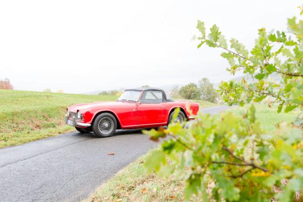 Triumph TR 4 Cabrio