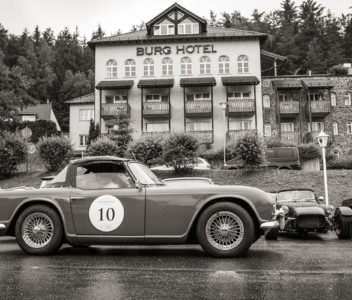 Classic Car Race Oldie Rennen Lord George Tour
