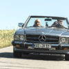 Mercedes 280 SL Pagode Castle Classic Lord Georg Oldtimerrallye
