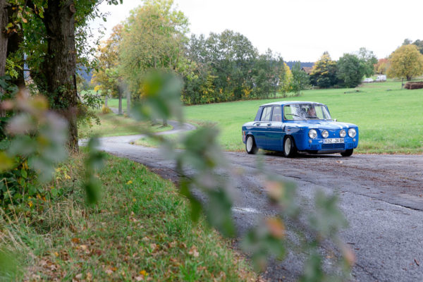 Renault R8 Gordini Lord George Oldtimer Rally